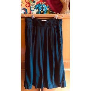 Elevenses Split Skirt Gauchos Tailored Boho SZ 6